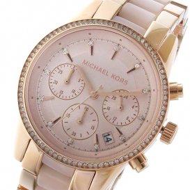マイケルコース MICHAEL KORS リッツ クロノ RITZ クオーツ ユニセックス 腕時計 MK6307 ローズゴールド
