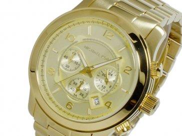 マイケルコース MICHAEL KORS クオーツ クロノ レディース 腕時計 MK8077