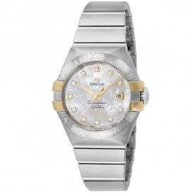 オメガ OMEGA コンステレーション 自動巻き レディース 腕時計 123.20.31.20.55.004 ホワイトパール