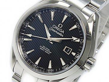 オメガ OMEGA シーマスター アクアテラ コーアクシャル 自動巻 レディース 腕時計 23110342001001
