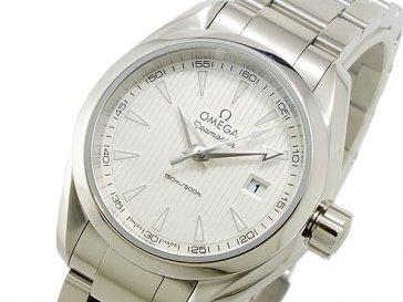 オメガ OMEGA シーマスター アクアテラ クオーツ レディース 腕時計 23110306002001