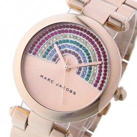 マーク ジェイコブス MARC JACOBS ドッティー Dotty レディース 腕時計 MJ3546 レインボー/ピンクゴールド