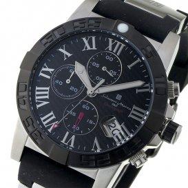 サルバトーレ マーラ SALVATORE MARRA クロノ クオーツ メンズ 腕時計 SM17111-SSBK ブラック