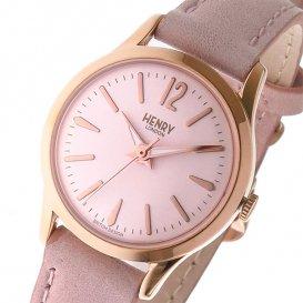 ヘンリーロンドン HENRY LONDON ショーディッチ SHOREDITCH 25mm レディース 腕時計 HL25-S-0170 ピンク