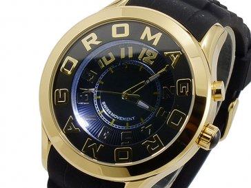 ロマゴ ROMAGO ATTRACTION クオーツ ユニセックス 腕時計 RM015-0162PL-GDBK