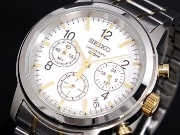 セイコー SEIKO クロノグラフ 腕時計 SSB009P1