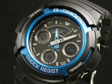 カシオ CASIO Gショック G-SHOCK アナデジ 腕時計 AW-591-2AJF 国内正規