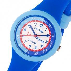 カクタス CACTUS キッズウォッチ 腕時計 CAC-92-M03 ホワイト/ブルー