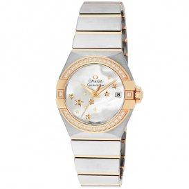 オメガ OMEGA コンステレーション 自動巻き レディース 腕時計 123.25.27.20.05.001 ホワイトパール