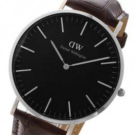 ダニエル ウェリントン クラシック ブラック ヨーク/シルバー 40mm メンズ 腕時計 DW00100134