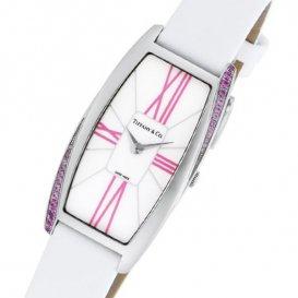 ティファニー TIFFANY&CO ジェメア クオーツ レディース 腕時計 Z64011010I29A-48I ホワイト