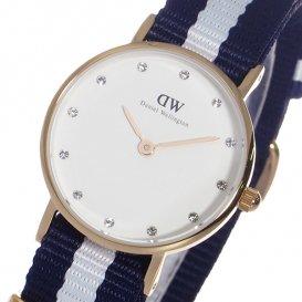 ダニエル ウェリントン グラスゴー/ローズ 26mm クオーツ 腕時計 0908DW