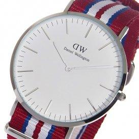 ダニエル ウェリントン エクセター/シルバー 40mm クオーツ 腕時計 0212DW