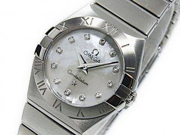 オメガ OMEGA コンステレーション クオーツ レディース 腕時計 12310246055001