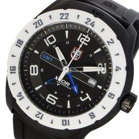 ルミノックス LUMINOX SXC GMT SERIES クオーツ メンズ 腕時計 5027-SXC ブラック