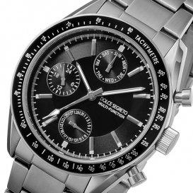 ドルチェ セグレート DOLCE SEGRETO クオーツ メンズ 腕時計 MSM101BK-BK ブラック