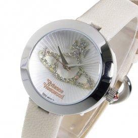 ヴィヴィアン ウエストウッド クオーツ レディース 腕時計 VV150WHCM ホワイト
