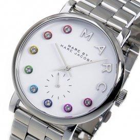 マークバイ マークジェイコブス ベイカー レディース 腕時計 MBM3420 ホワイト