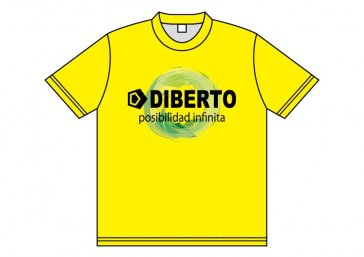 DIBERTO製、CIMA DE MAIS応援Tシャツ、...