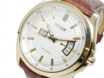 シチズン CITIZEN メカニカル 自動巻き メンズ 腕時計 NP4033-09A