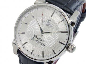 ヴィヴィアン ウエストウッド VIVIENNE WESTWOOD フィンズバリー クオーツ メンズ 腕時計 VV065SLBK