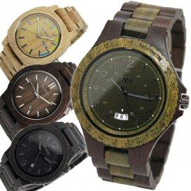 ウィーウッド WEWOOD 木製 メンズ 腕時計 SETH-CHOCO-ARMY アーミー 国内正規