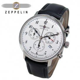ツェッペリン ZEPPELIN ヒンデンブルク クオーツ メンズ クロノ 腕時計 7086-1