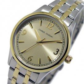 シャルル ジョルダン CHARLES JOURDAN クオーツ レディース 腕時計 197231 ゴールド