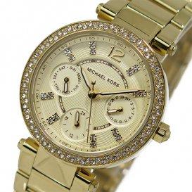 マイケルコース クオーツ レディース 腕時計 MK6056 ゴールド
