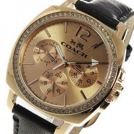 コーチ COACH クオーツ レディース 腕時計 14502125 ピンクゴールド