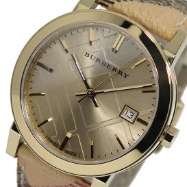 バーバリー BURBERRY シティ クオーツ レディース 腕時計 BU9026 ゴールド