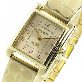 コーチ COACH クオーツ レディース 腕時計 14502160 ゴールド