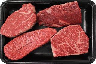 都萬牛ステーキ 店長おまかせ 1万円分 (計700g)