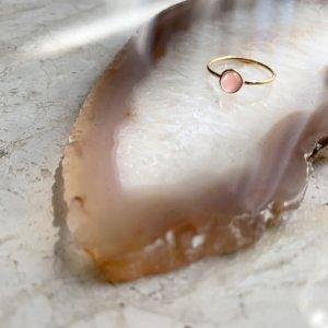 Gem Ring_NUDE インカローズ