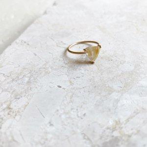 Claw Ring_ルチルクォーツ