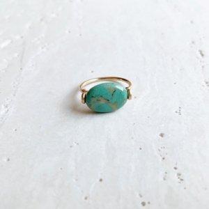 Pebble Ring_ターコイズ