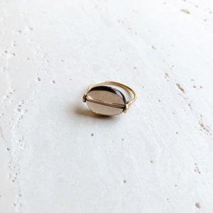 Pebble Ring_スモーキークォーツ