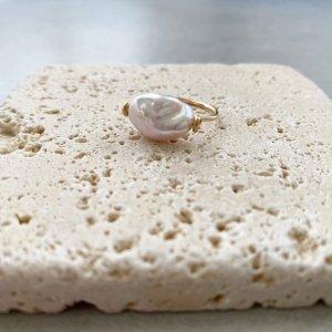 Pebble Ring_バロックパール