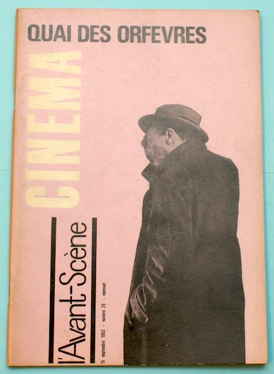 L'Avant-Scene Cinema No29 特集 アンリ・ジョルジュ・クルーゾー「犯罪河岸」