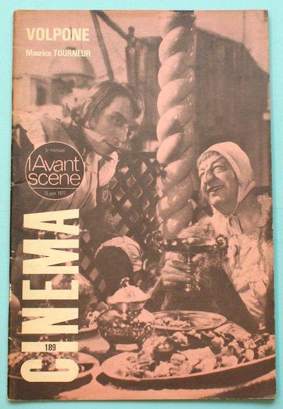 "L'Avant-Scene Cinema No189 特集 モーリス・トゥールヌールMaurice Tourneur ""VOLPONE""(1940)"