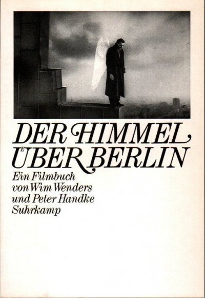 DER HIMMEL UBER BERLIN 映画『ベルリン天使の詩』のシナリオブック