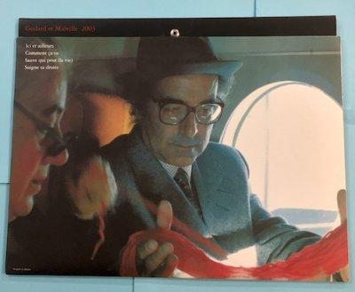 ゴダールとミエヴィル 2003年 特集上映の映画パンフレット 蓮實重彦企画監修