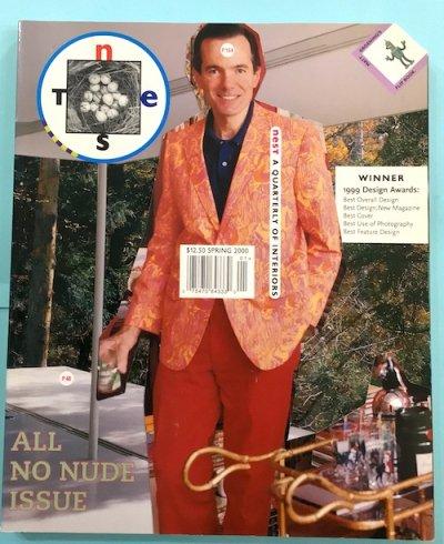 NEST 8 A Quarterly of Interiors spring 2000 ALL NO NUDE ISSUE