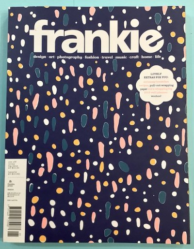 frankie81 2018年 洋雑誌