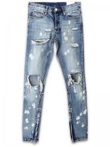 <strong>mnml LA</strong>M1 SPLASH INDIGO DENIM<br>SPLASH INDIGO