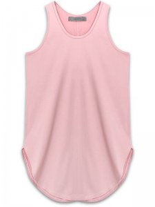 <strong>alchemist ink</strong>SCALLOP TANK-TOP<br>PALE PINK