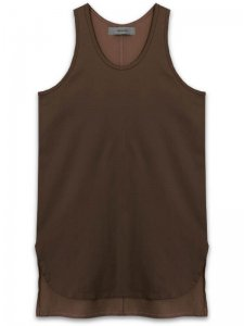 <strong>alchemist ink</strong>ELEMENTARY TANK-TOP<br>CHOCOLATE