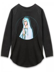 <strong>ANTON LISIN</strong>HOPE PRINT LONG SLEEVE T-SHIRT<br>BLACK / RGB