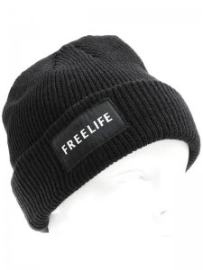 <strong>FREELIFE LA</strong>FREELIFE NIGHT WATCH BEANIE<br>BLACK