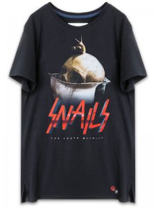 <strong>YOUTH MACHINE</strong>SNAILS RECRUIT T-SHIRT<br>BLACK